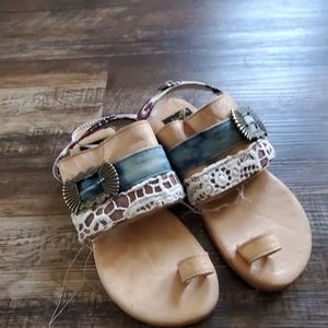 Freebird sandals new never used